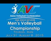Asian Senior Men's Volleyball 2015